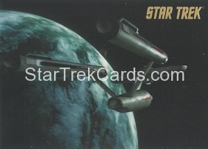 Star Trek The Remastered Original Series Trading Card Parallel 36