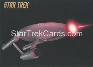 Star Trek The Remastered Original Series Trading Card Parallel 40