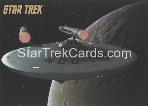 Star Trek The Remastered Original Series Trading Card Parallel 5