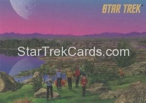 Star Trek The Remastered Original Series Trading Card Parallel 50