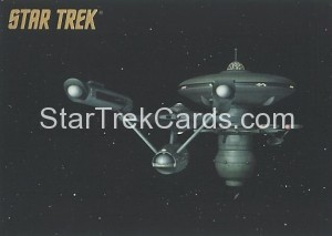 Star Trek The Remastered Original Series Trading Card Parallel 53