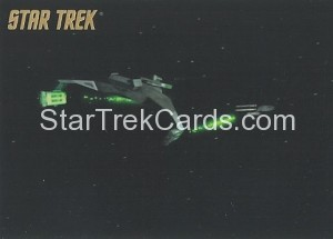 Star Trek The Remastered Original Series Trading Card Parallel 57