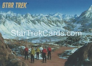 Star Trek The Remastered Original Series Trading Card Parallel 61