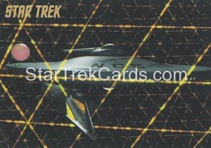 Star Trek The Remastered Original Series Trading Card Parallel 64