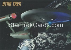 Star Trek The Remastered Original Series Trading Card Parallel 66