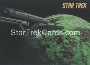 Star Trek The Remastered Original Series Trading Card Parallel 71