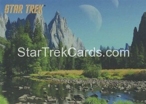 Star Trek The Remastered Original Series Trading Card Parallel 75