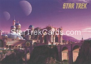 Star Trek The Remastered Original Series Trading Card Parallel 76