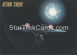 Star Trek The Remastered Original Series Trading Card Parallel 78