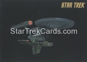 Star Trek The Remastered Original Series Trading Card Parallel 8
