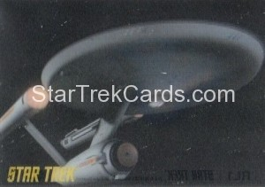 Star Trek The Remastered Original Series Trading Card RL1
