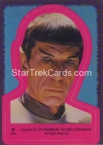 Star Trek The Motion Picture Topps Sticker 9