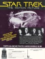 Star Trek The Motion Picture Topps Trading Card Sell Sheet