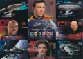 30 Years of Star Trek Phase Two Trading Card Promo Uncut 9 Card Sheet Pioneer