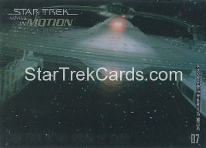 Star Trek Movies in Motion Trading Card 07