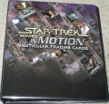 Star Trek Movies in Motion Trading Card Binder