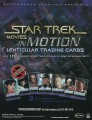 Star Trek Movies in Motion Trading Card Sell Sheet Front