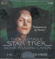 The Quotable Star Trek Movies Trading Card Box