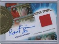 The Quotable Star Trek Movies Trading Card Brent Spiner Autograph Costume