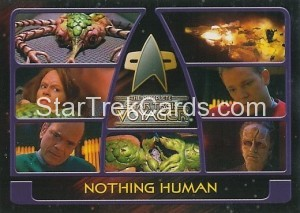 The Complete Star Trek Voyager Trading Card 108