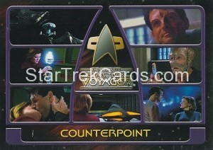 The Complete Star Trek Voyager Trading Card 110