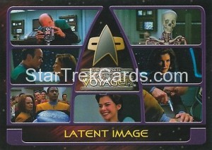 The Complete Star Trek Voyager Trading Card 111