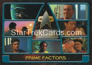 The Complete Star Trek Voyager Trading Card 12