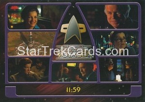 The Complete Star Trek Voyager Trading Card 123