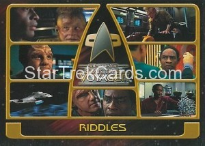 The Complete Star Trek Voyager Trading Card 133