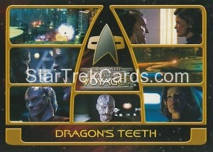 The Complete Star Trek Voyager Trading Card 134