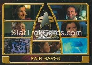The Complete Star Trek Voyager Trading Card 138