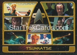 The Complete Star Trek Voyager Trading Card 142