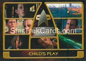 The Complete Star Trek Voyager Trading Card 146