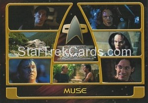 The Complete Star Trek Voyager Trading Card 149