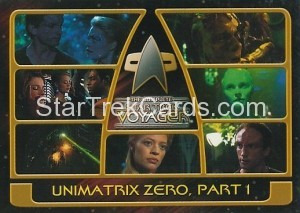 The Complete Star Trek Voyager Trading Card 153