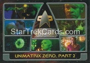 The Complete Star Trek Voyager Trading Card 155