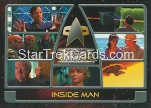 The Complete Star Trek Voyager Trading Card 160