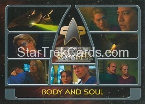 The Complete Star Trek Voyager Trading Card 161
