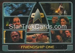 The Complete Star Trek Voyager Trading Card 175