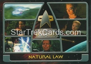 The Complete Star Trek Voyager Trading Card 176