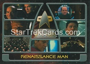 The Complete Star Trek Voyager Trading Card 178