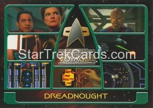 The Complete Star Trek Voyager Trading Card 36