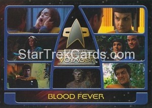 The Complete Star Trek Voyager Trading Card 62