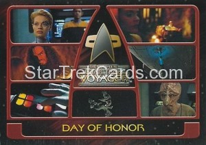 The Complete Star Trek Voyager Trading Card 76