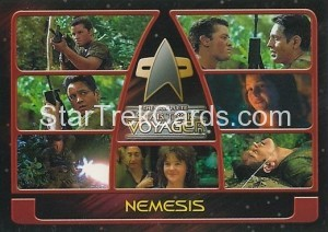 The Complete Star Trek Voyager Trading Card 77