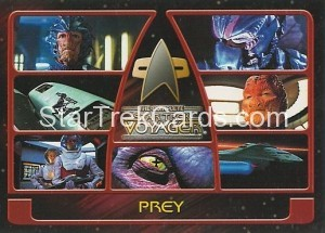 The Complete Star Trek Voyager Trading Card 89