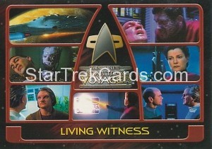 The Complete Star Trek Voyager Trading Card 96