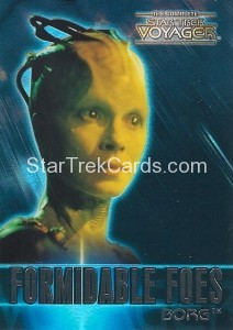 The Complete Star Trek Voyager Trading Card F3