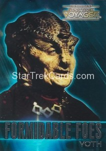 The Complete Star Trek Voyager Trading Card F8