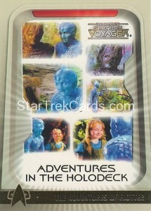 The Complete Star Trek Voyager Trading Card H6